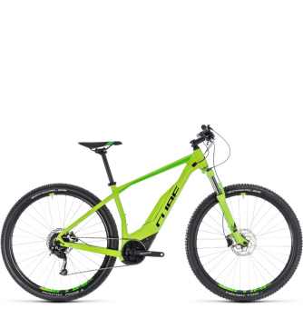 Электровелосипед Cube Acid Hybrid One 500 29 (2018) green´n´black