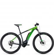 Электровелосипед Cube Reaction Hybrid Pro 500 29 (2018) iridium´n´green