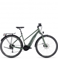 Электровелосипед Cube Touring Hybrid One 400 Trapeze (2018) frostgreen´n´silver