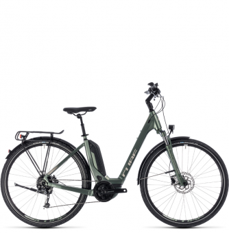 Электровелосипед Cube Touring Hybrid One 500 Easy Entry (2018) frostgreen´n´silver
