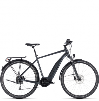 Электровелосипед Cube Touring Hybrid One 400 (2018) iridium´n´black