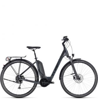 Электровелосипед Cube Touring Hybrid One 400 Easy Entry (2018) iridium´n´black