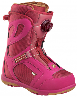 Ботинки для сноуборда Head Galore Pro Boa pink (2018)