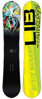 Сноуборд LIB TECH Skate Banana Btx Paril 2018