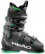 Горнолыжные ботинки Head Advant Edge 95 black/green (2018) 1