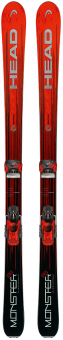 Горные лыжи Head Monster 88 Ti + Крепления Attack 13 GW (2018)