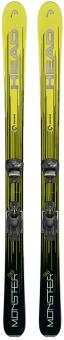 Горные лыжи Head Monster 98 Ti + Крепления Attack 14 AT (2018)