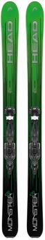 Горные лыжи Head Monster 108 Ti + Крепления Attack 13 GW (2018)