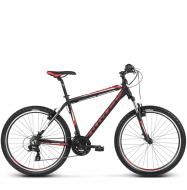 Велосипед Kross Hexagon X1 (2018) black/red/white matte