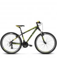 Велосипед Kross Hexagon X2 (2018) black/green/yellow matte