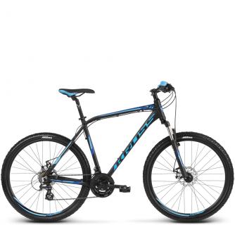 Велосипед Kross Hexagon 3 (2018) black/navy blue/blue matte