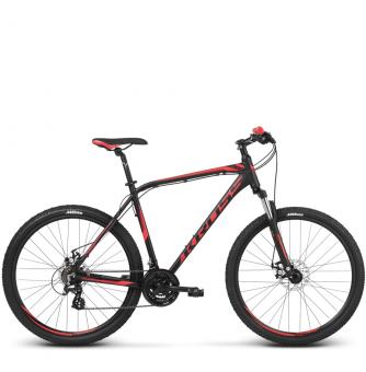 Велосипед Kross Hexagon 3 (2018) black/red/burgundy matte