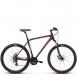 Велосипед Kross Hexagon 3 (2018) black/red/burgundy matte 1
