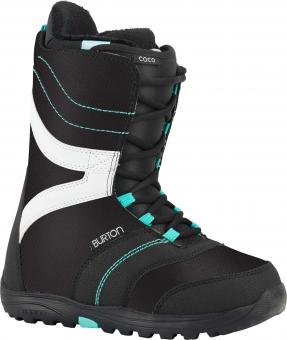 Ботинки для сноуборда Burton Coco black/teal (2018)