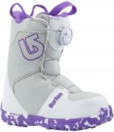 Ботинки для сноуборда Burton Grom Boa white/purple (2018)