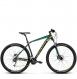 Велосипед Kross Level 4.0 (2018) black/green/dark green matte 1