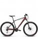 Велосипед Kross Level 4.0 (2018) black/red/white matte 1