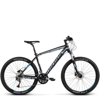 Велосипед Kross Level 3.0 (2018) black/steel/blue matte