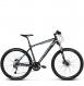 Велосипед Kross Level 3.0 (2018) black/steel/blue matte 1