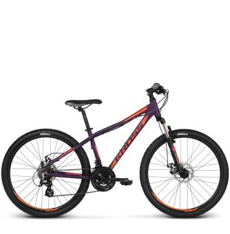 Велосипед Kross Lea 3.0 (2018) violet/orange matte