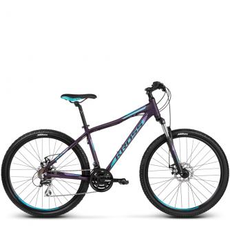 Велосипед Kross Lea 4.0 (2018) violet/blue matte