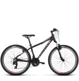 Велосипед Kross Lea 1.0 (2018) black/raspberry matte