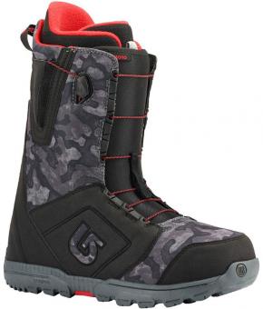 Ботинки для сноуборда Burton Moto black/camo (2018)