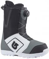 Ботинки для сноуборда Burton Moto Boa white/black/grey (2018)