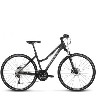 Велосипед Kross Evado 7.0 (2018) black/blue matte