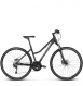 Велосипед Kross Evado 7.0 (2018) black/blue matte 1