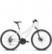 Велосипед Kross Evado 4.0 (2018) white/blue glossy 1