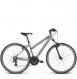 Велосипед Kross Evado 2.0 (2018) silver/red matte 1