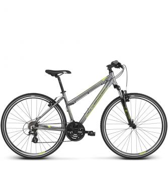 Велосипед Kross Evado 2.0 (2018) graphite/lime glossy