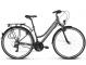 Велосипед Kross Trans 1.0 (2018) graphite/sky blue/white matte 1