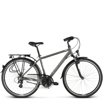 Велосипед Kross Trans 2.0 (2018) graphite/gray/silver glossy