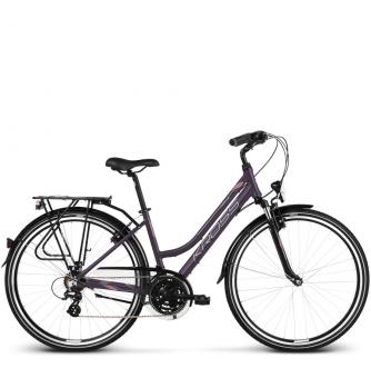 Велосипед Kross Trans 2.0 (2018) violet/pink silver matte