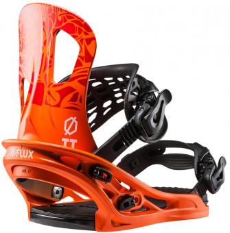 Крепления для сноуборда Flux TT orange (2018)
