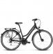 Велосипед Kross Trans 3.0 (2018) black/violet/silver matte 1