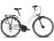 Велосипед Kross Trans 3.0 (2018) white/sky blue/black glossy 1