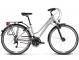 Велосипед Kross Trans 4.0 (2018) silver/raspberry/graphite 1