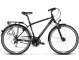 Велосипед Kross Trans 4.0 (2018) black/blue/silver matte 1