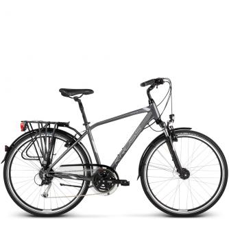 Велосипед Kross Trans 5.0 (2018) graphite/silver glossy