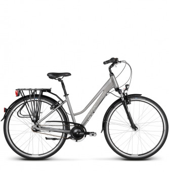 Велосипед Kross Trans 6.0 (2018) graphite/silver glossy