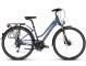 Велосипед Kross Trans 7.0 (2018) blue/silver matte 1