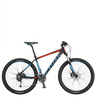 Велосипед Scott Aspect 930 (2017) black/blue/red