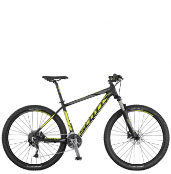 Велосипед Scott Aspect 740 (2017) black/yellow/grey