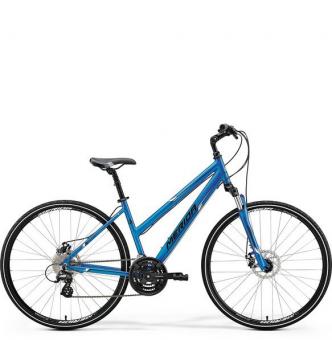 Велосипед Merida Crossway 15-MD Lady blue (2018)