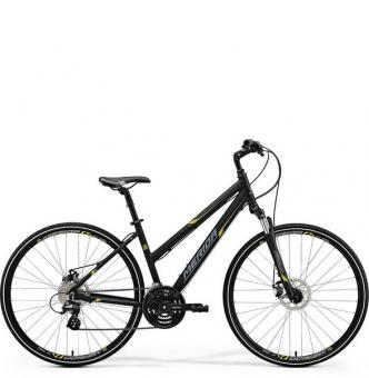 Велосипед Merida Crossway 15-MD Lady black (2018)