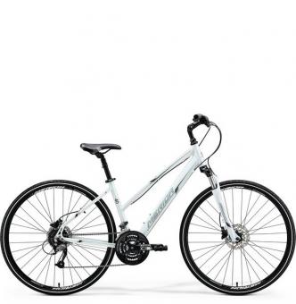Велосипед Merida Crossway 40-D Lady white (2018)