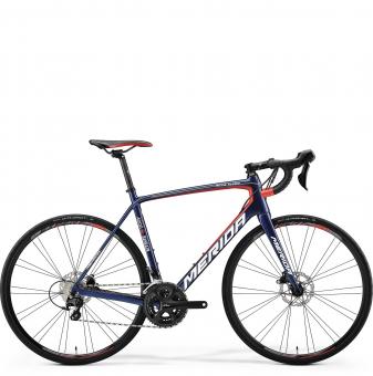Велосипед Merida Scultura disc 4000 blue (2018)